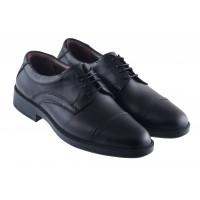 Туфли кожаные ESSE (Turkey) 20417 черные