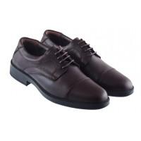 20418 ESSE (Turkey) Туфли кожаные темно-коричневые
