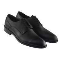 Туфли кожаные KOMCERO (Turkey) 20426 черные