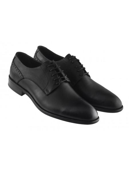 20426 KOMCERO (Turkey) Туфли кожаные черные