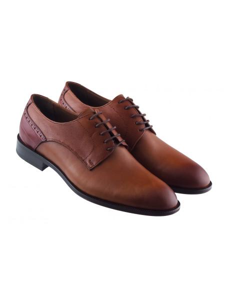 20427 KOMCERO (Turkey) Туфли кожаные коричневые