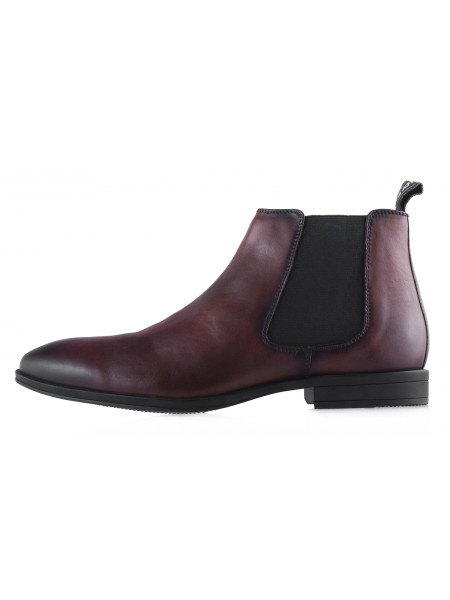 20428 S.OLIVER (Germany) Ботинки осенние кожаные темно-коричневые
