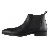 20429 S.OLIVER (Germany) Ботинки осенние кожаные черные