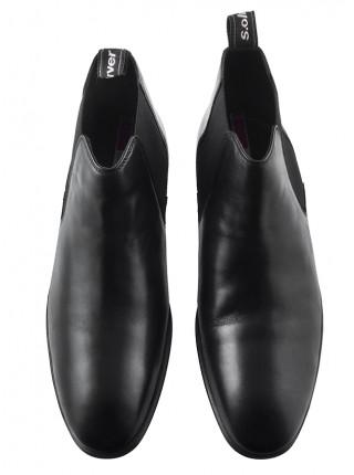 Ботинки осенние кожаные S.OLIVER (Germany) 20429 черные