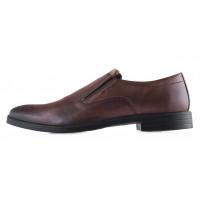 20432 WOJAS (Poland) Туфли осенние кожаные коричневые