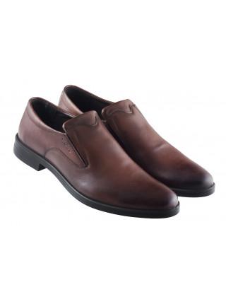 Туфли каожаные WOJAS (Poland ) 20432 коричневые