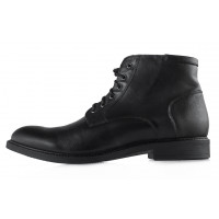 Ботинки осенние кожаные RYLKO (Poland ) 20444 черные