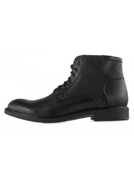 20445 RYLKO (Poland ) Ботинки зимние кожаные черные
