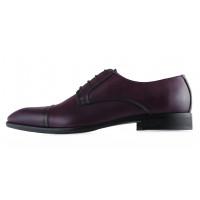 Туфли кожаные GIANNI RUSSO (ИТАЛИЯ) 20447 темно-бордовые