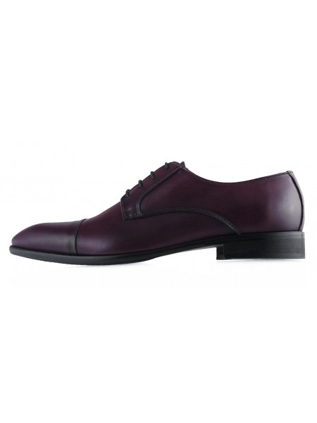 20447 GIANNI RUSSO (Italy) Туфли кожаные темно-бордовые