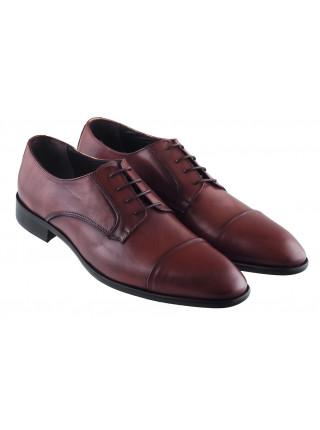 20448 GIANNI RUSSO (Italy) Туфли кожаные коричневые