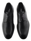 Туфли кожаные GIANNI RUSSO (ИТАЛИЯ) 20449 черные