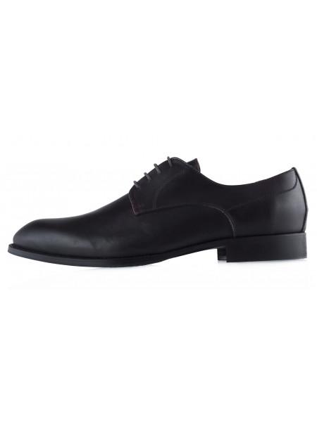 20451 GIANNI RUSSO (Italy) Туфли кожаные темно-коричневые