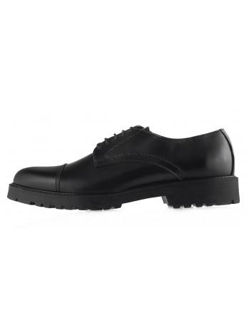 Туфли кожаные GIANNI RUSSO (ИТАЛИЯ) 20452 черные