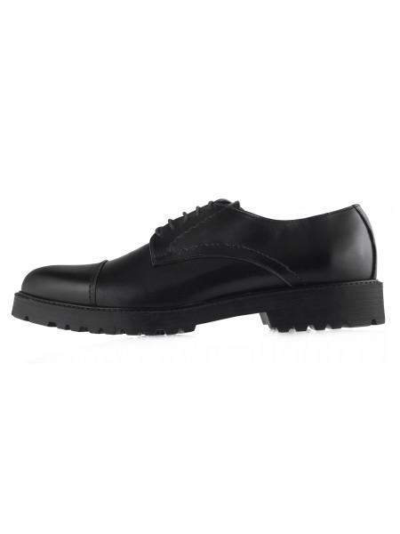 20452 GIANNI RUSSO (Italy) Туфли кожаные черные