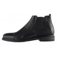 Ботинки зимние кожаные RYLKO (Poland ) 20473 черные