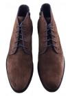 Ботинки осенние замшевые RYLKO (Poland ) 20476 серые