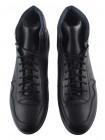 Ботинки-спорт осенние кожаные RYLKO (Poland ) 20481 черные