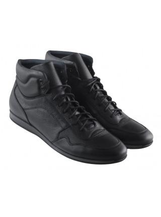 20481 RYLKO (Poland ) Ботинки осенние кожаные черные