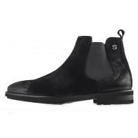 Ботинки осенние замшевые SAIL LAKERS (Turkey) 20490 черные
