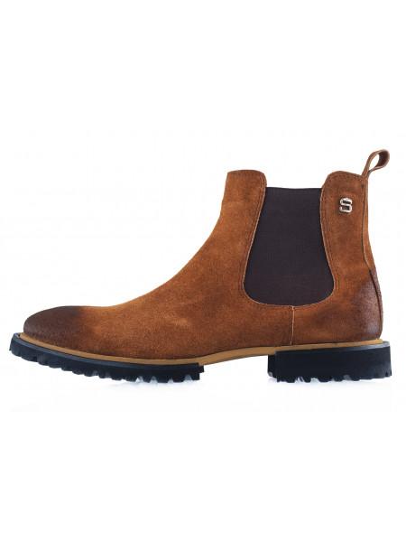 20491 SAIL LAKERS (Turkey) Ботинки осенние замшевые коричневые