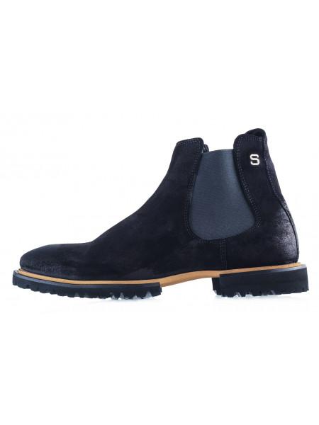 20492 SAIL LAKERS (Turkey) Ботинки осенние замшевые черные