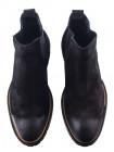 Ботинки осенние замшевые SAIL LAKERS (Turkey) 20492 черные