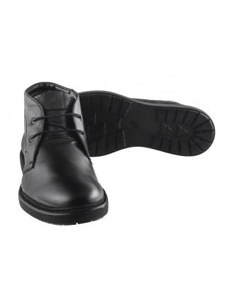 20495 SAIL LAKERS (Turkey) Ботинки осенние кожаные черные