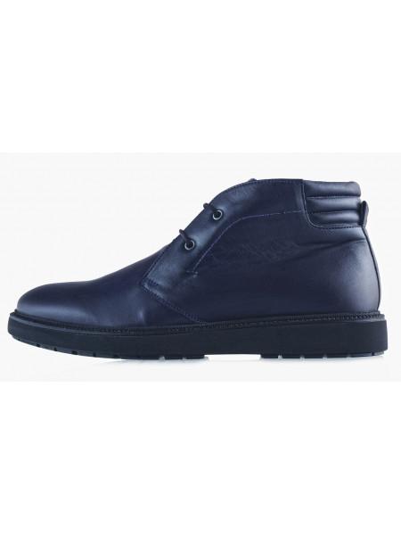 20496 SAIL LAKERS (Turkey) Ботинки осенние кожаные синие