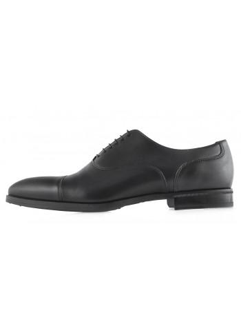 Туфли кожаные CONHPOL (Poland ) 20499 черные