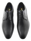 Туфли кожаные CONHPOL (Poland ) 20500 черные
