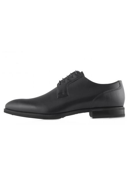 20500 CONHPOL (Poland) Туфли кожаные черные