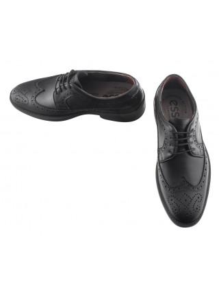 Туфли-броги кожаные ESSE (Turkey) 20501 черные