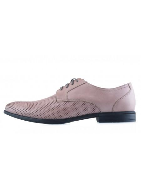20510 RYLKO (Poland) Туфли кожаные серые
