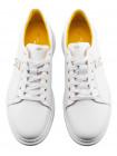 Кеды кожаные JOHN RICHARDO (Turkey) 20535 белые