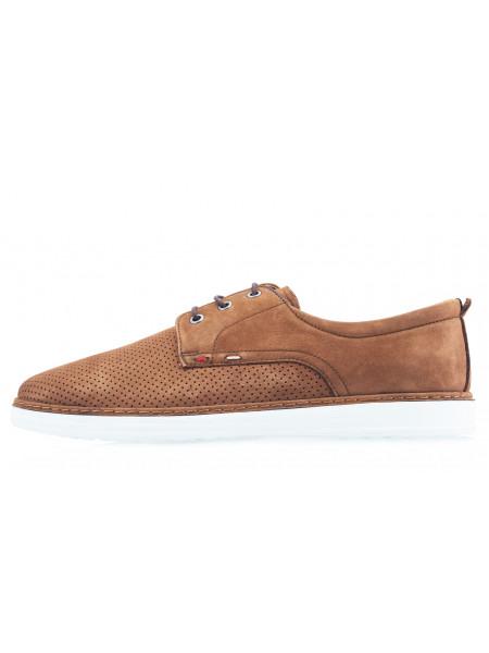 20543 KOMCERO (Turkey) Туфли нубуковые коричневые