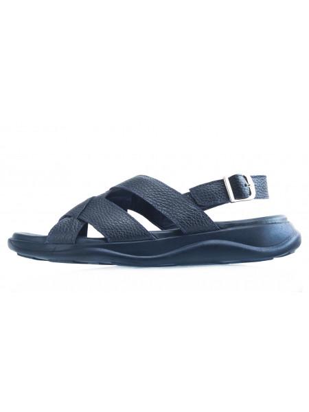 Сандали кожаные JOHN RICHARDO (Turkey) 20547 темно-синие