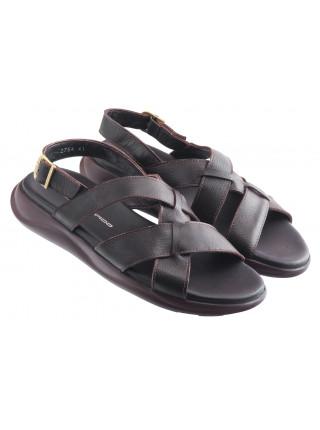 Сандали кожаные JOHN RICHARDO (Turkey) 20548 темно-коричневые