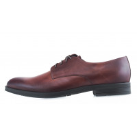 Туфли кожаные RYLKO (Poland ) 20578 коричневые
