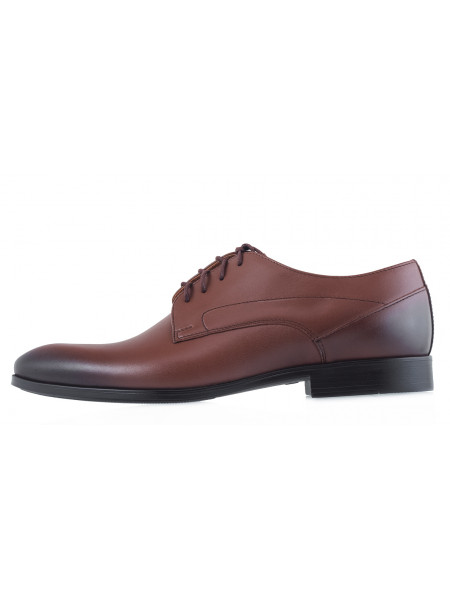 Туфли кожаные RYLKO (Poland ) 20581 коричневые