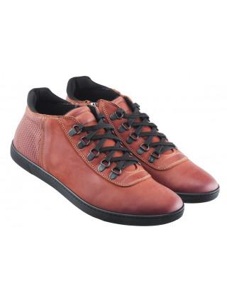 20582 RYLKO (Poland ) Ботинки-спорт кожаные коричневые