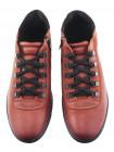 Ботинки-спорт осенние кожаные RYLKO (Poland ) 20582 коричневые