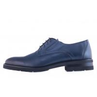 20594 DESCARA (Turkey) Туфли-броги кожаные синие