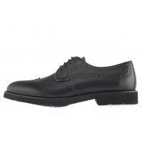 20598 DESCARA (Turkey) Туфли-броги кожаные черные