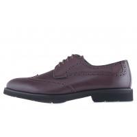 20600 DESCARA (Turkey) Туфли-броги кожаные коричневые