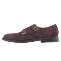 20630 MANOVIE TOSCANE (Italy)  cesta velour t.moro1 туфли-броги замшевые коричневые
