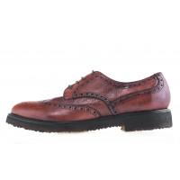 20631 MANOVIE TOSCANE (Italy)  cesta diver ip 128 tuffato туфли-броги кожаные коричневые