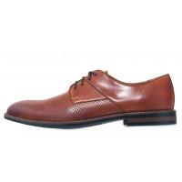 Туфли кожаные мужские RYLKO (Poland) 20646 коричневые