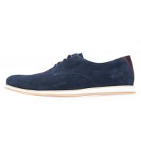 Туфли замшевые мужские RYLKO (Poland) 20652 синие