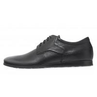 Туфли кожаные мужские RYLKO (Poland) 20654 черные